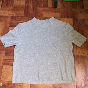Zara Trafaluc Grey shirt